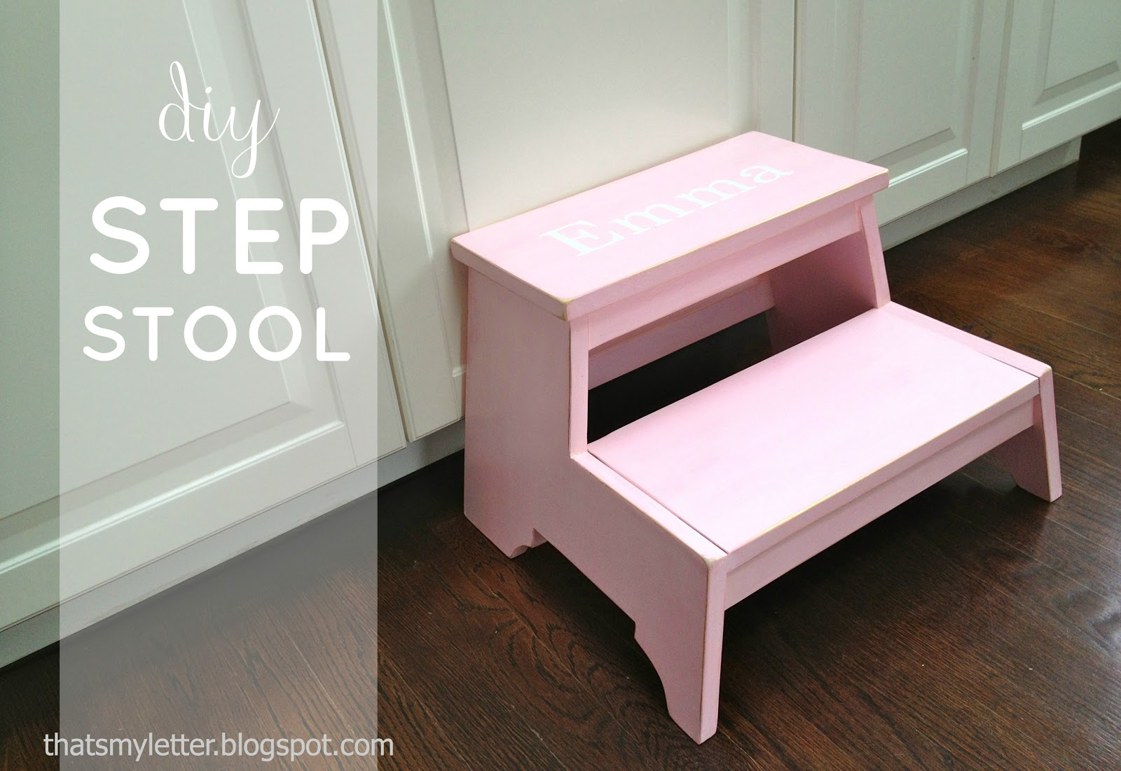 """K"" is for Kids Step Stool - Jaime Costiglio"
