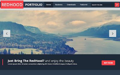 Reed Hood Portfolio - Plantilla Responsive Blogger