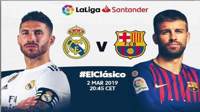 La Liga: Real Madrid Vs Barcelona: Pembalasan Dendam?