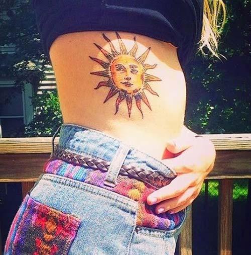 güneş dövmeleri sun tattoos 28