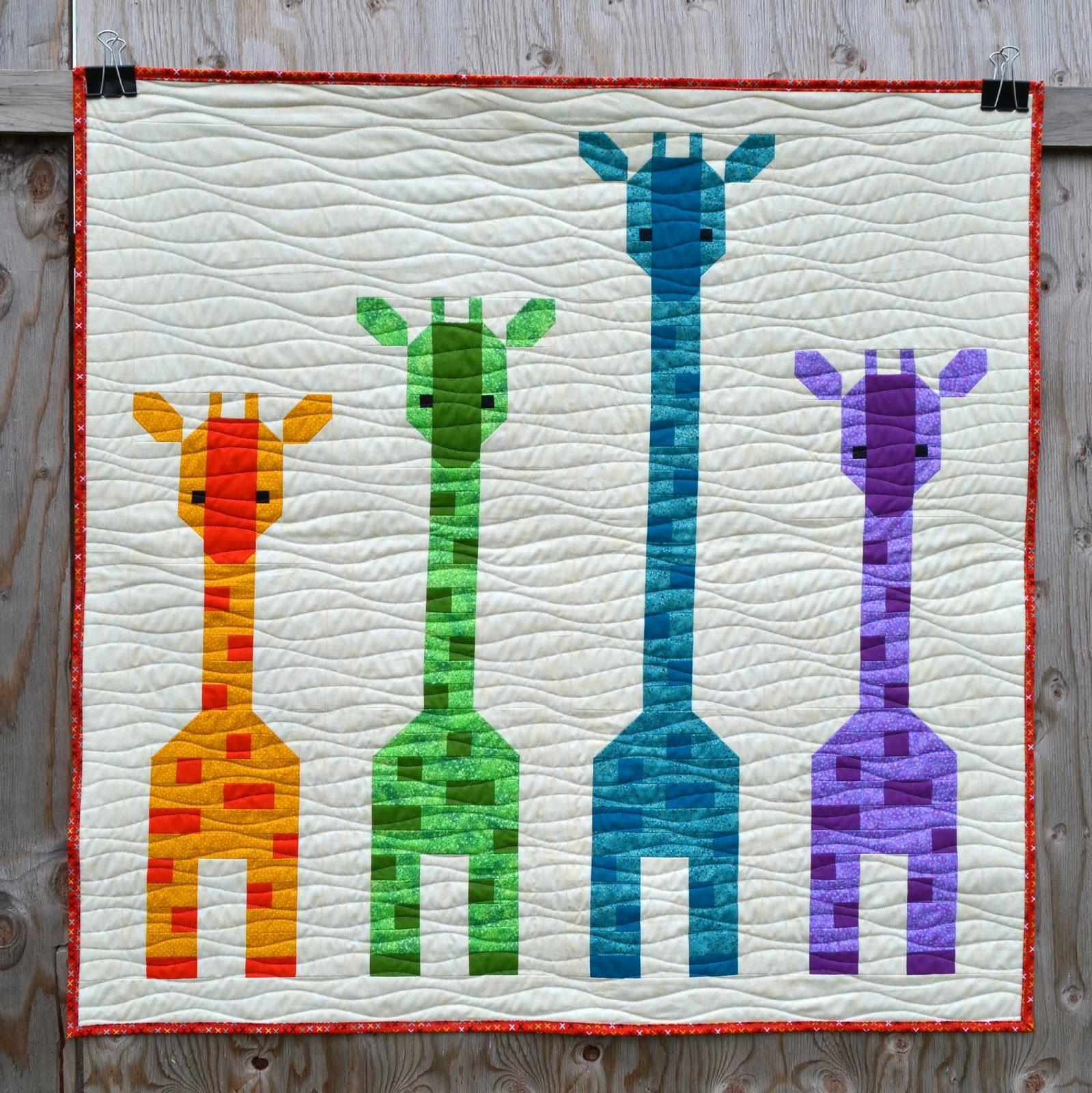 Sew Fresh Quilts Giraffes In A Row
