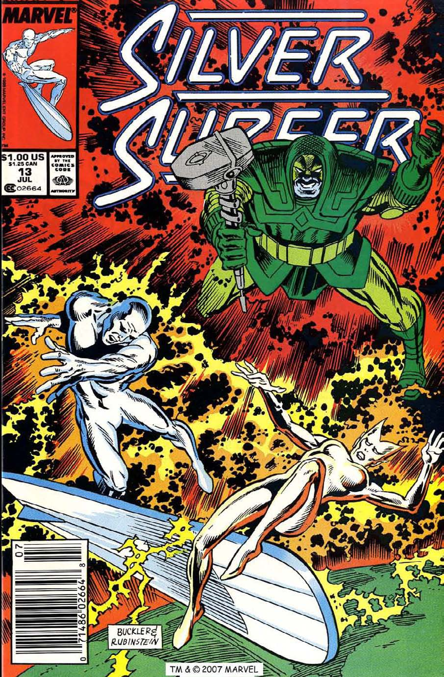 Read online Silver Surfer (1987) comic -  Issue #13 - 1