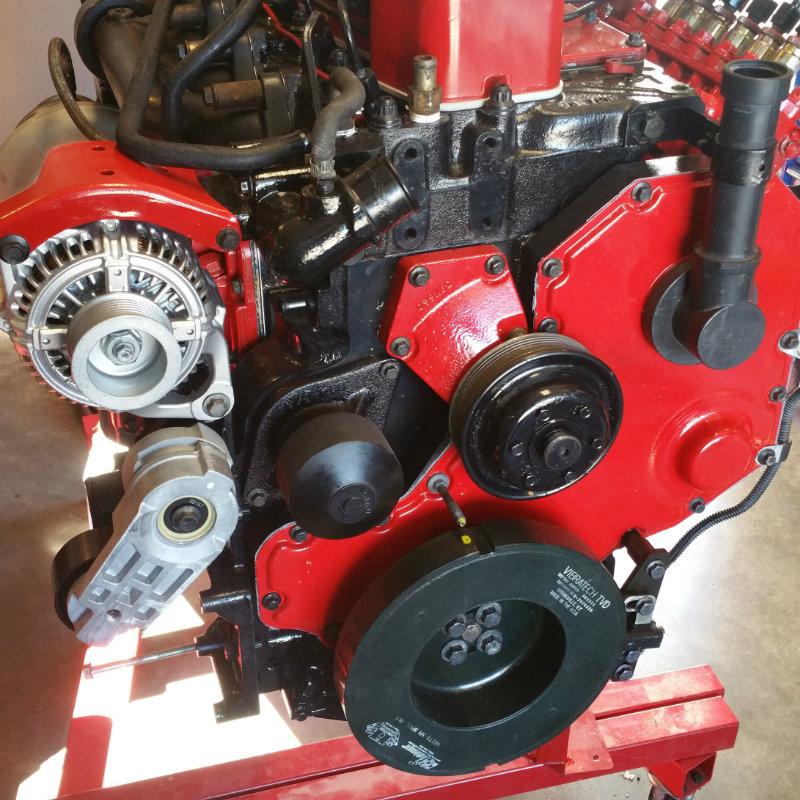 Precision Turbo Cummins: Toxic Diesel Performance : Diesel Performance Damper Fluidampr