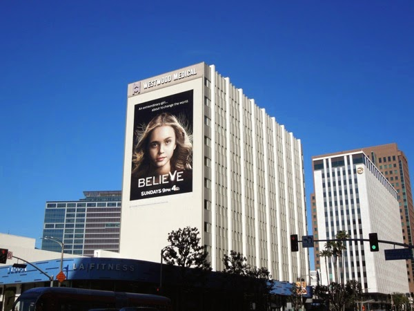 Giant Believe series premiere billboard