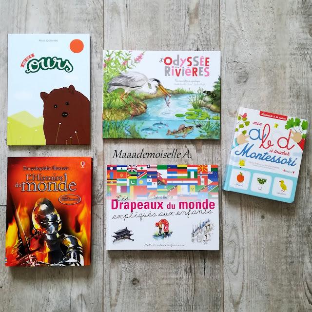 > Une vie d'ours  > L'odyssée des rivières  > L'Histoire du monde  > Les drapeaux du monde expliqués aux enfants  > Mon ABCD à toucher Montessori