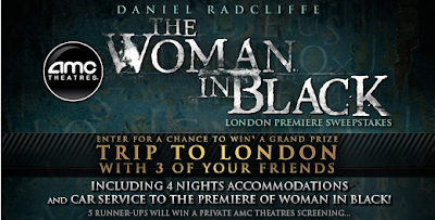 Updated: Win a trip to the London premiere of The Woman in Black (AMC Theatres)