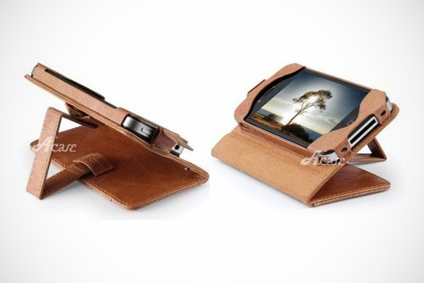 iPhone 4 and 4S Genuine Leather Wallet Case