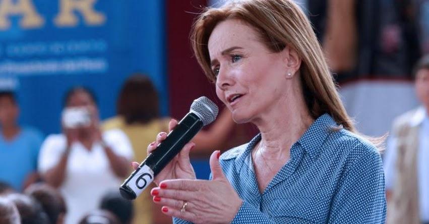 MINEDU: Ministra de Educación explicará hoy en el Congreso situación de maestros