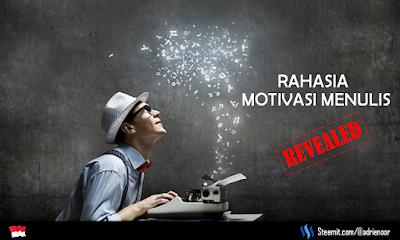 motivasi menulis