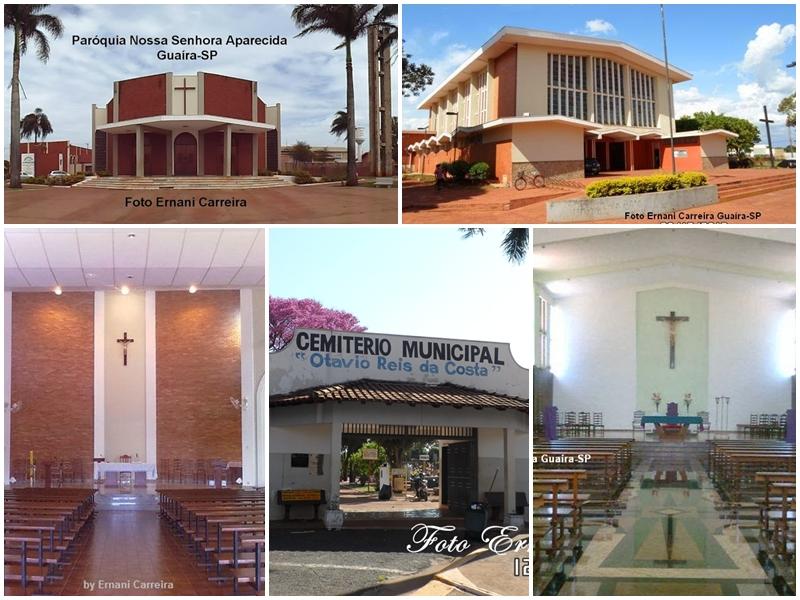 Missa Dia dos Pais Cemitério Guaíra SP Arvore Ipê Roxo