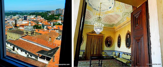 Salão Amarelo do Paço das Escolas da Universidade de Coimbra