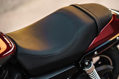 2017 Harley-Davidson Street 750 seat