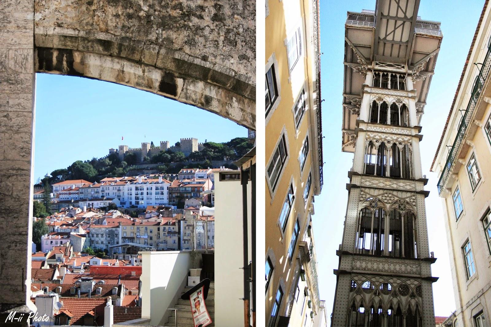 M-ii Photo : 10 choses à faire à Lisbonne Elevador de Santa Justa