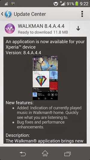 SONY Walkman 8.4.A.4.4