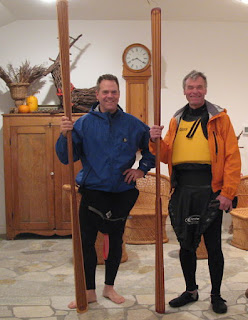 Randy & Mike - Going Kayaking!