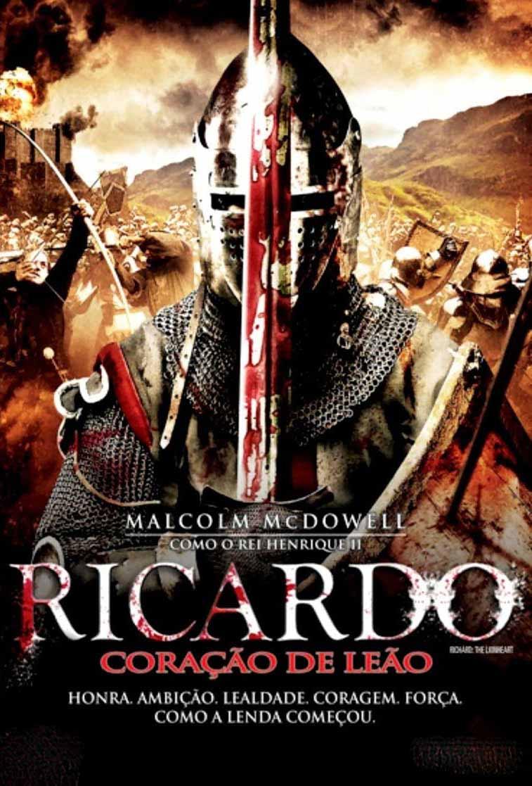 Ricardo: Coração de Leão Torrent – Blu-ray Rip 720p Dual Áudio (2014)