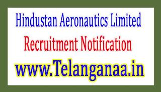 Hindustan Aeronautics Limited HAL Recruitment Notification 2017