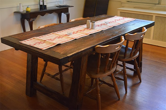 The Tobins: Dining Table