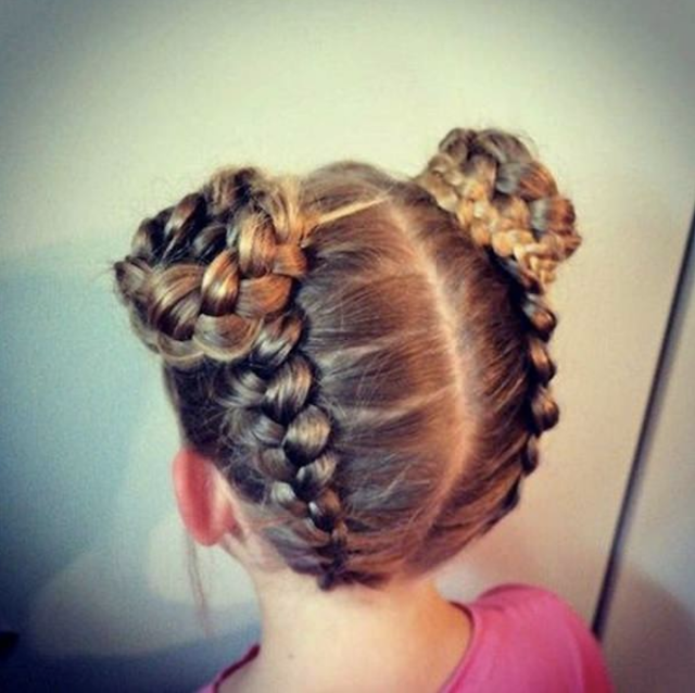 little girl braid hairstyle 2019