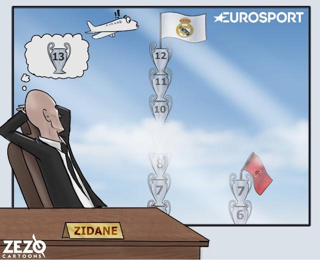 Zidane ya sueña con la Champions número 13