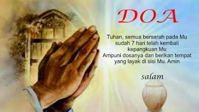 Doa bagi Orang yang Meninggal dan Keluarga yang di Tinggalkan