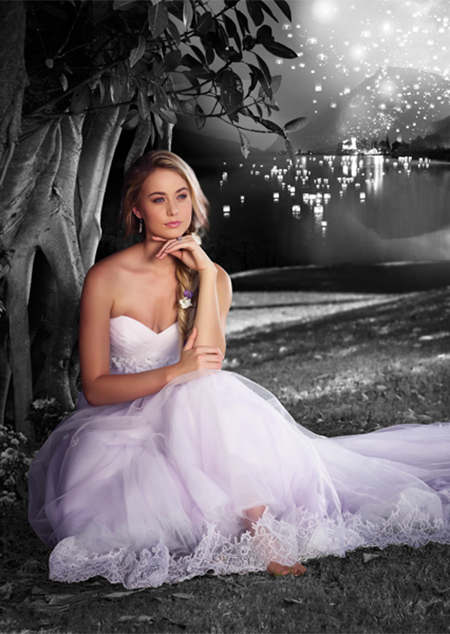Vestidos de novia a la moda | Colección Tipo Princesa Disney