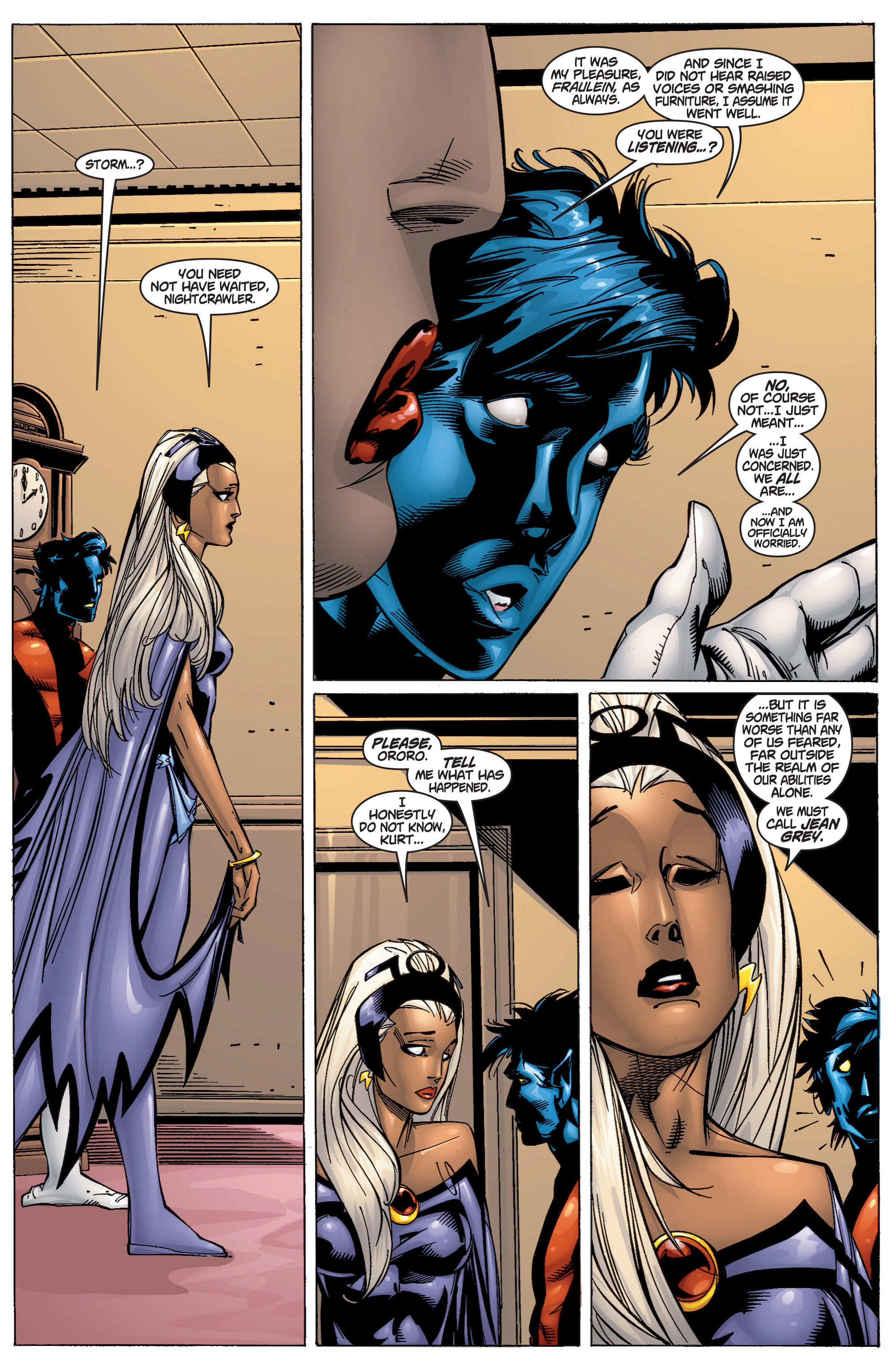 Read online Uncanny X-Men (1963) comic -  Issue #372 - 16