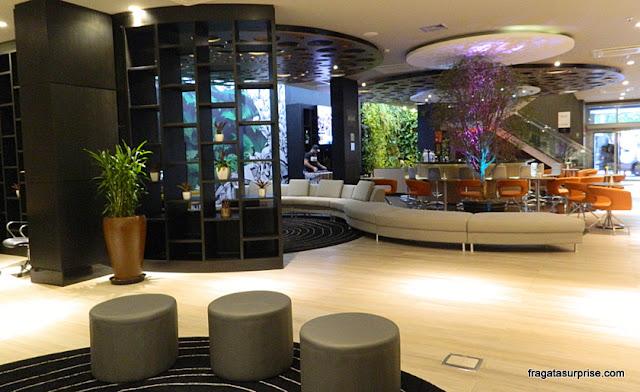Lobby do Novotel Botafogo, Rio de Janeiro
