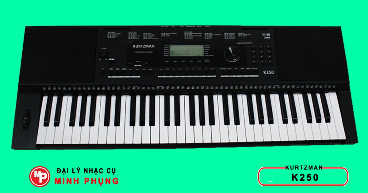 Bán Đàn Organ Kurtzman K250, K200, K300 Chính Hãng Giá Rẻ