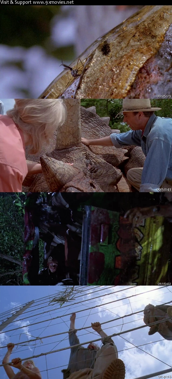 Jurassic Park 1993 Dual Audio Hindi 480p BluRay