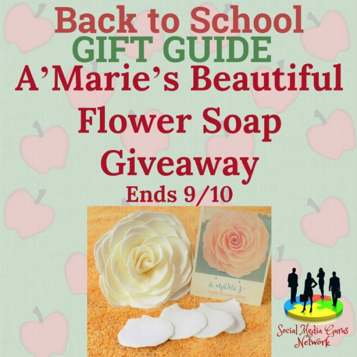 A'Marie's Beautiful Flower Soap