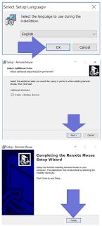 Buat Smartphone menjadi Mouse laptop 1