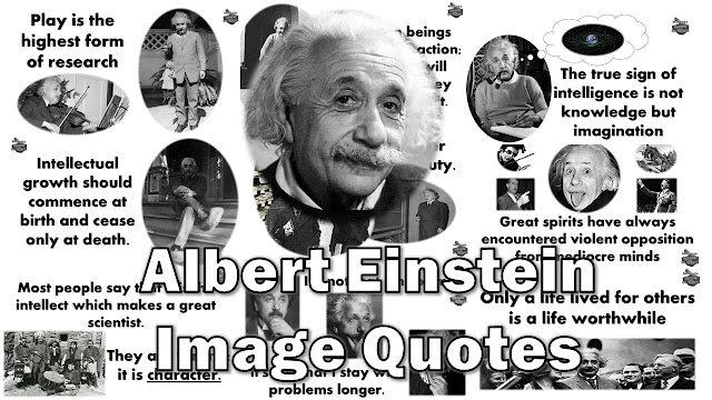 Here are 10 Albert Einstein Picture Quotes About Life to spark inspiration and creativity in you. Each quote is represented in Picture format and has an explanation about the meaning.