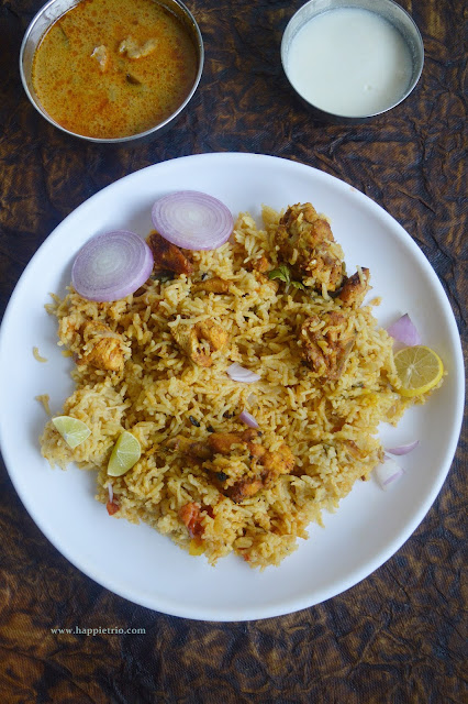 Chicken Tikka Biriyani Recipe | How to cook Chicken Tikka Biryani