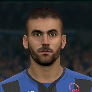 PES 2017 Faces Leonardo Spinazzola by Sameh Momen