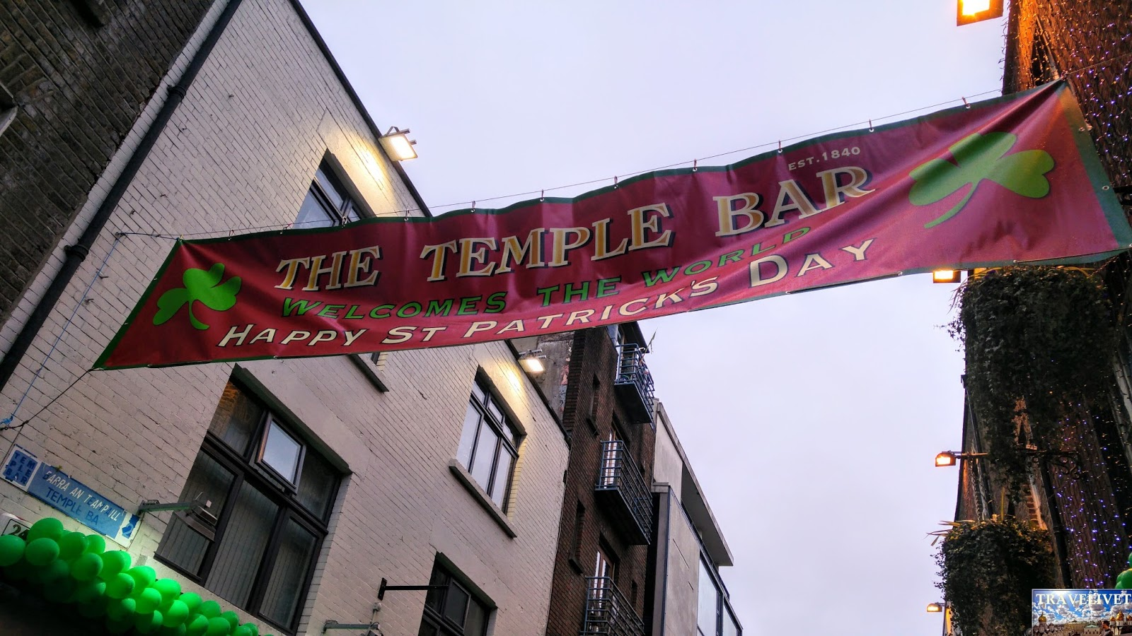 Irlande Dublin The Temple Bar