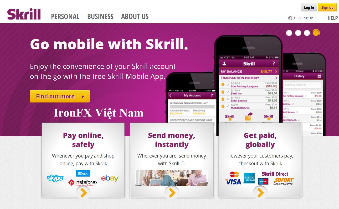 Hướng dẫn cách tạo ví Skrill Moneybookers đơn giản nhất