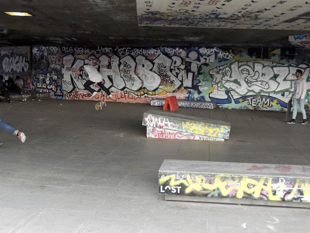 london, southbank, skaters, skate park,