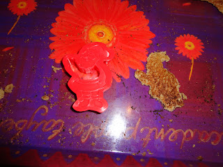 A Mothers Ramblings: cabinet Decorations Made From Bread - Christmasdecorations On Cupboard Top
