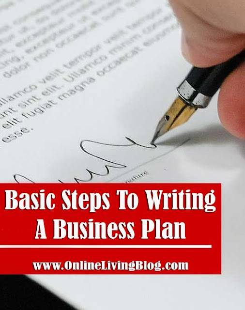 7 Basic Steps To Writing A Business Plan