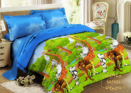 Sprei Kintakun Luxury Kids Safari
