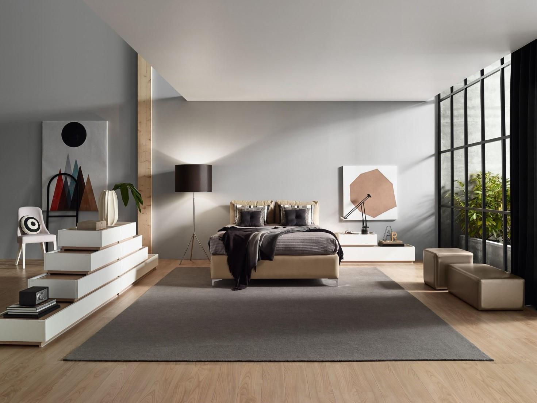 Arredare la camera da letto in stile moderno edilizia in - Arredare la camera da letto ...