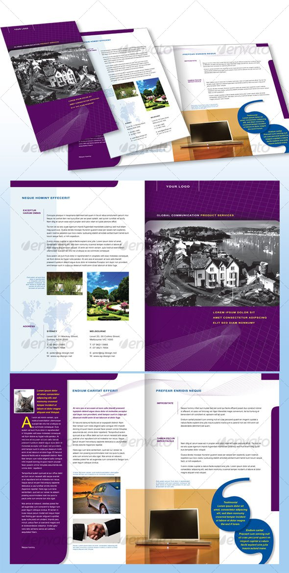 4 pages brochure template juve cenitdelacabrera co