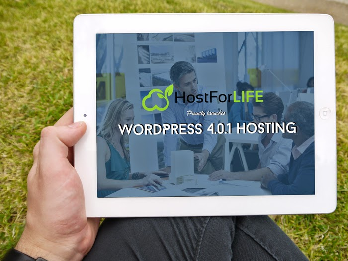 HostForLIFE.eu Announces Release of WordPress 4.0.1 Hosting