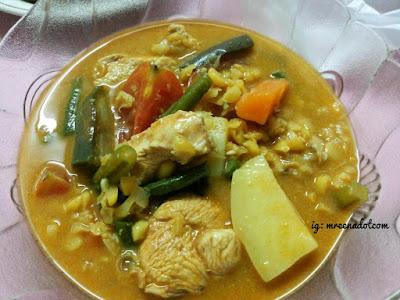 Resepi Dalca Ayam