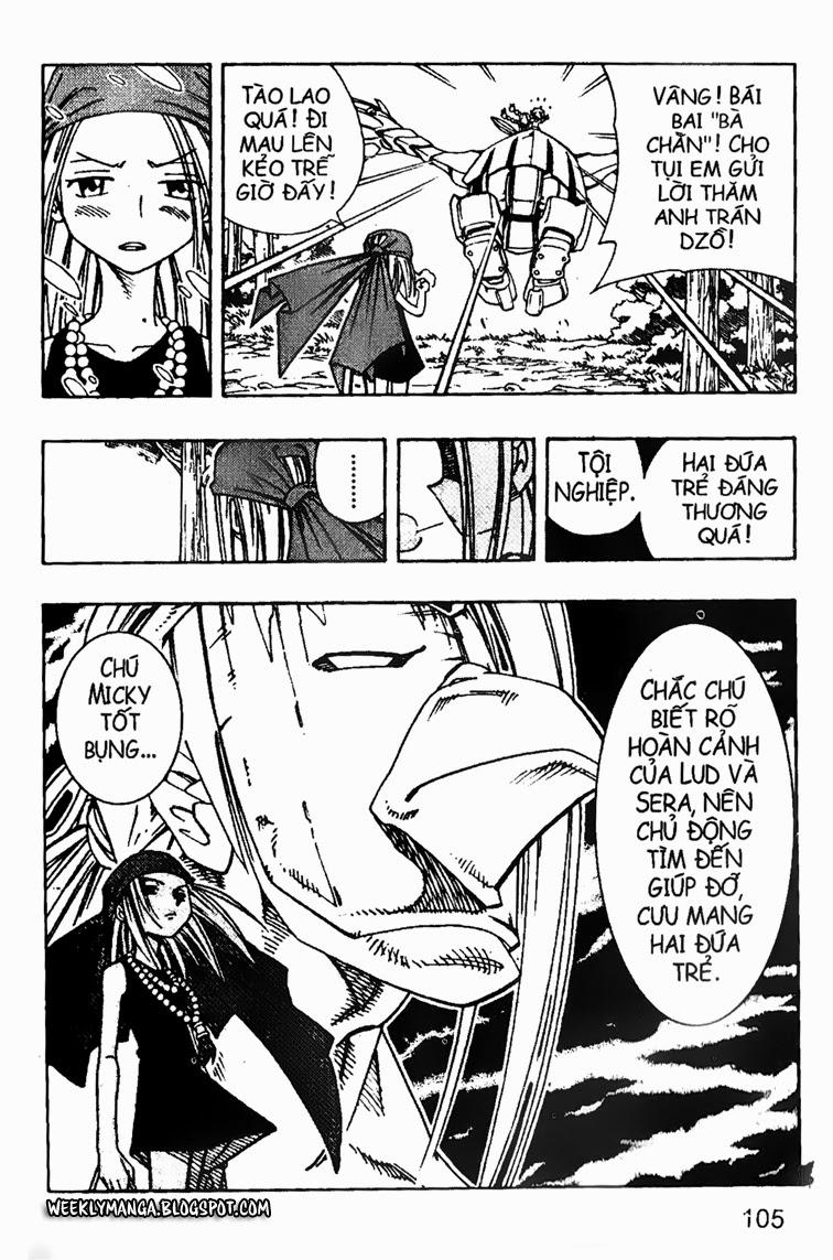 Shaman King [Vua pháp thuật] chap 158 trang 21