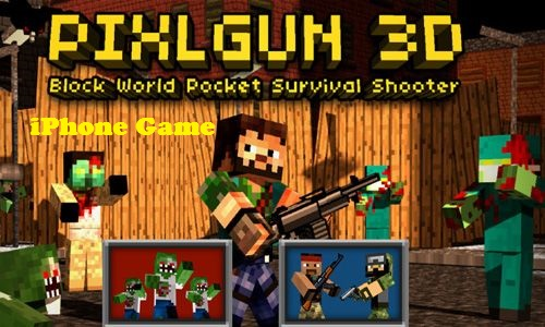 Download Pixel Gun 3D iPhone Game