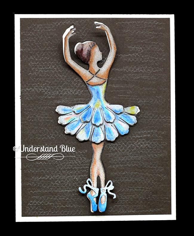 Degas ballerina by Understand Blue