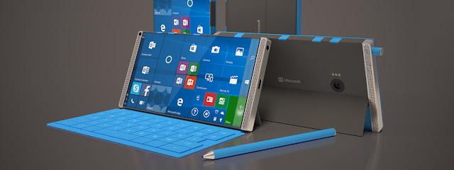 Lộ cấu hình Surface Phone