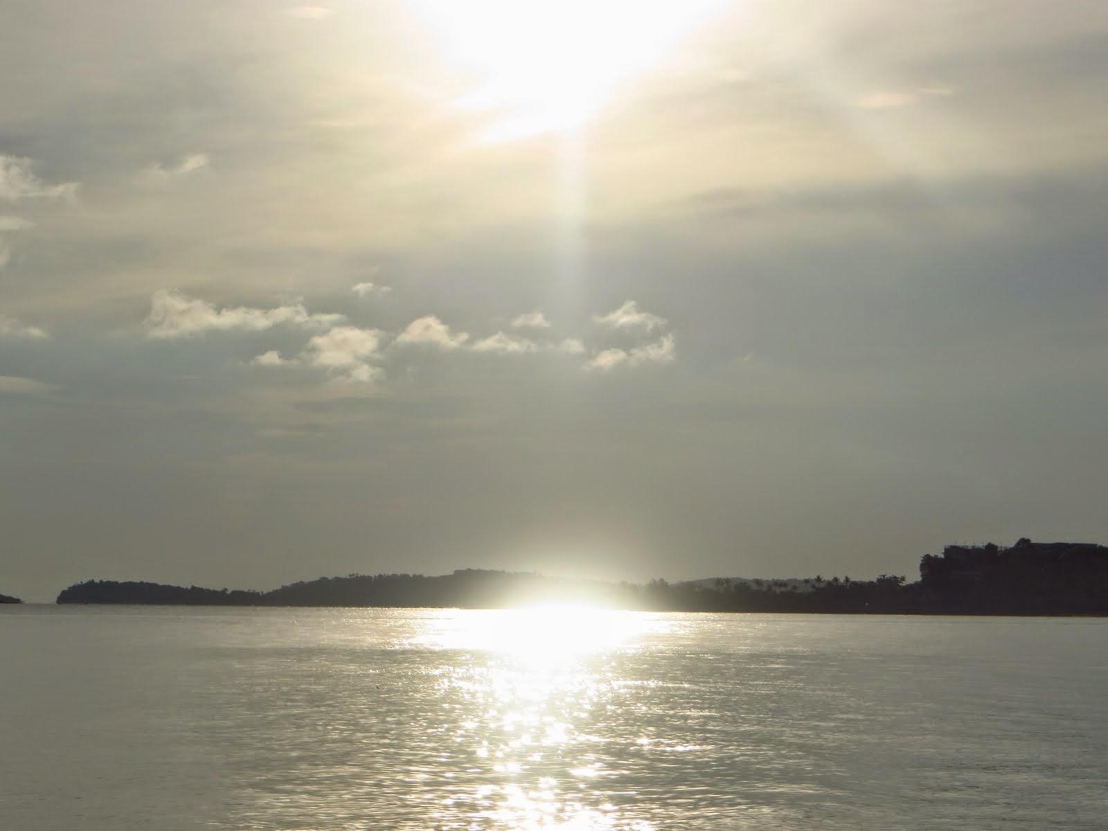 Море на острове Самуи